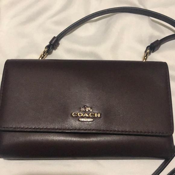 Coach Handbags - Coach wallet/ crossbody convertable👻🍁